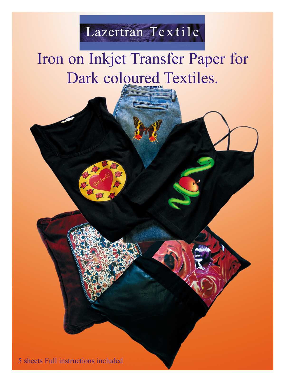 Heat transfer paper create your own t shirts iron on for Iron on shirt paper